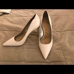 White Sam Edelman pumps Size 7